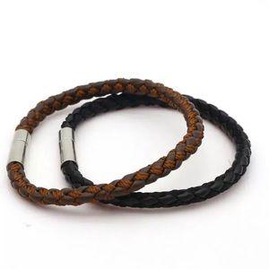 Other - Men's bracelets bundle black and brown